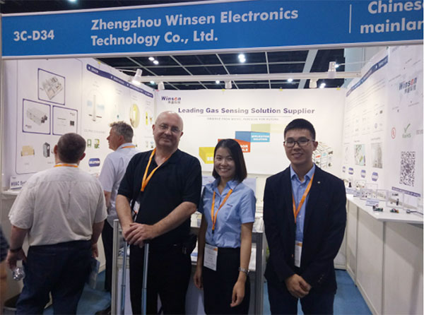 Winsen invite you to attend 2018 HK Electronics Fair