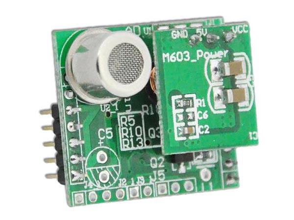 Gas Detection Sensor With PCB